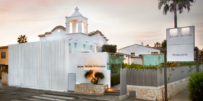 Quique Dacosta Restaurante, Ctra. Las Marinas, Km. 3. Urb. El Poblet. 03700 Dénia, Alicante, Comunidad Valenciana.