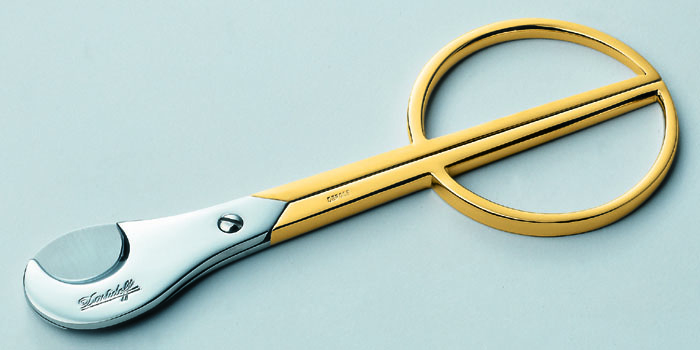 Davidoff Cigar Scissors Stainless Steel Gold - Large: US$725.