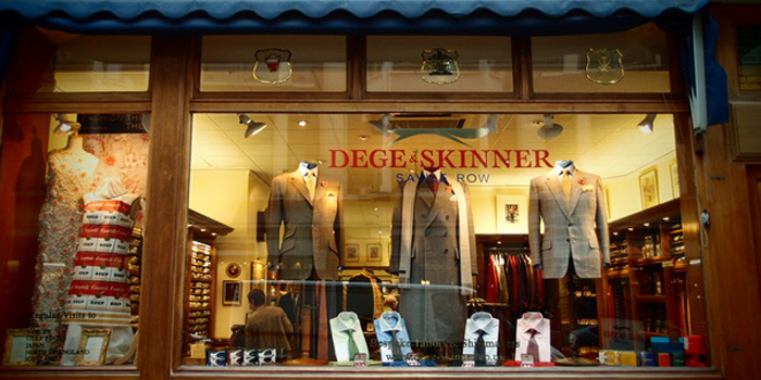 Dege & Skinner, 10 Savile Row, London W1S 3PF, England, U.K.