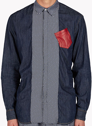 Dsquared2 Polka Denim Shirt: US$695.