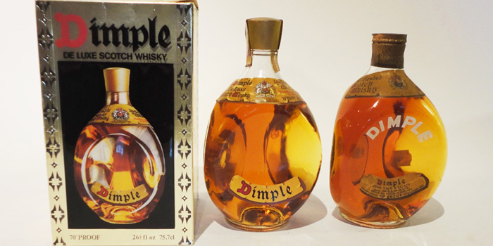 Dimple Haig blended Scotch whisky.