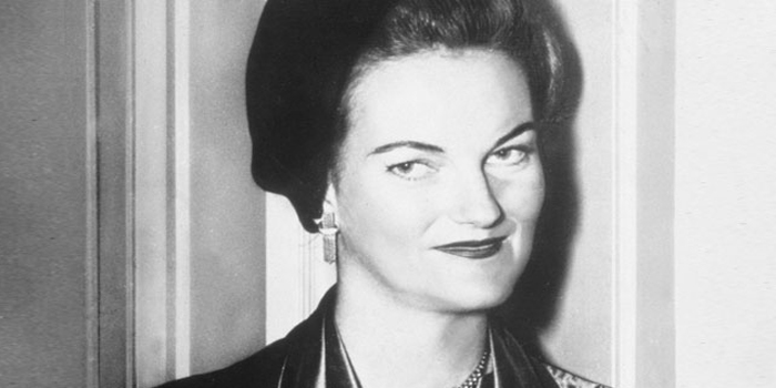 Doris Duke (November 22, 1912 – October 28, 1993). American heiress, horticulturalist, art collector, and philanthropist.