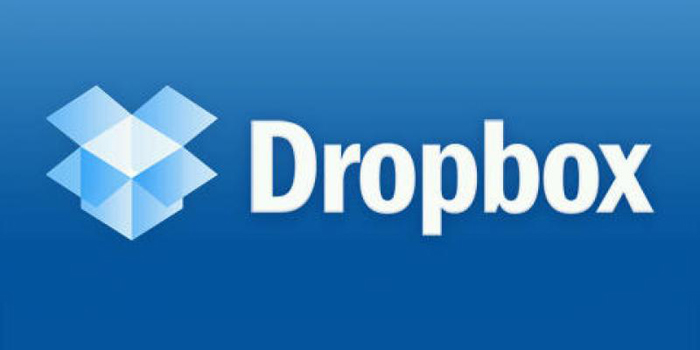 Dropbox file hosting service.