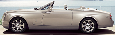 Rolls-Royce Phantom Drophead Coupé.