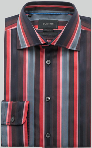Duchamp London Admiral Stripe Shirt: £58.50.