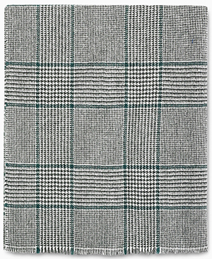 Dunhill Green Prince of Wales men's scarf: £275.