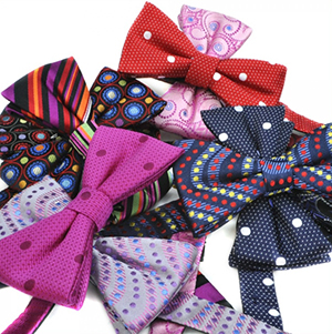 Wessex Paul Williams 100% silk jacquard ready tied bow ties.