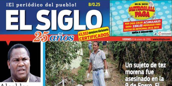 El Siglo (The Century) - Spanish language daily newspaper published in Panama.
