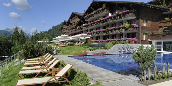 Ermitage Wellness &apm; Spa Hotel, Dorfstrasse 46, 3778 Schönried / Gstaad, Switzerland.
