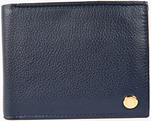 Gieves & Hawkes Navy Wallet: £250.