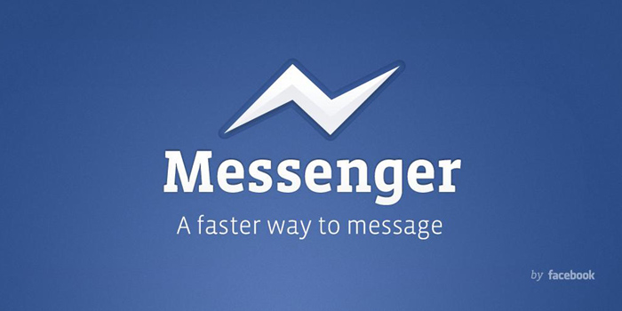 Facebook Messenger - instant messaging service and software application which provides text and voice communication. Integrated with Facebook's web-based Chat feature.