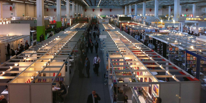 Frankfurt Book Fair, Germany - the world's largest trade fair for books.