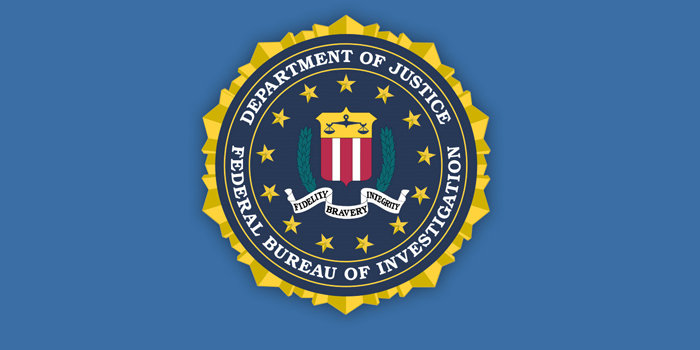 FBI | Federal Bureau of Investigation - governmental agency belonging to the United States Department of Justice that serves as both a federal criminal investigative body and an internal intelligence agency (counterintelligence).