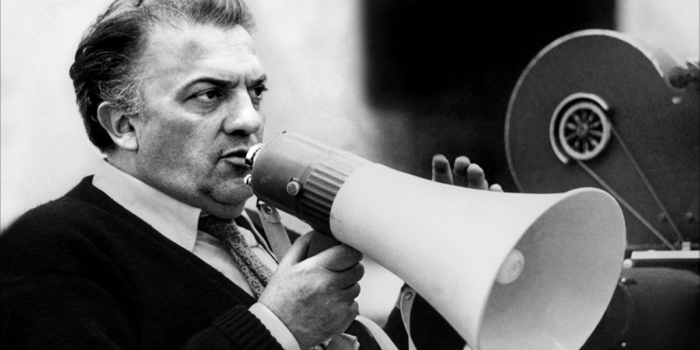 Federico Fellini - Italian film director and scriptwriter. Known for a distinct style that blends fantasy and baroque images, he is considered one of the most influential filmmakers of the 20th century (1920-1993).