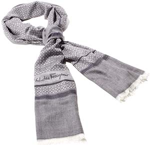 Salvatore Ferragamo men's scarf: €230.