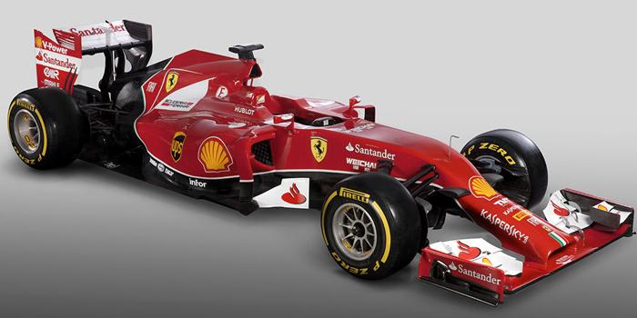 Scuderia Ferrari F14 T - Ferrari's 2014 Formula One car.