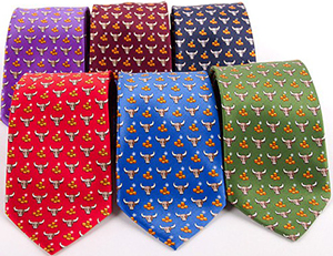Italo Ferretti Bull Collection ties.