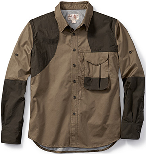 Filson Frontloading Righthanded Shooting Shirt: US$130.