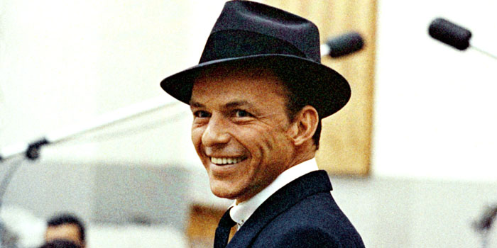 Frank Sinatra (1915-1998). American singer and film actor.