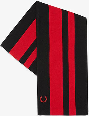 Fred Perry Hilltop Stripe Women's Scarf: US$75.