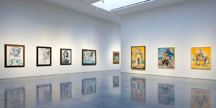 Exhibition At Contemporary Art Gallery Gagosian Owned And Directed By Larry World S Gest