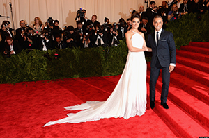 Met Ball 2013: Katie Holmes Swaps Tom Cruise For Even Shorter Man On Red Carpet.
