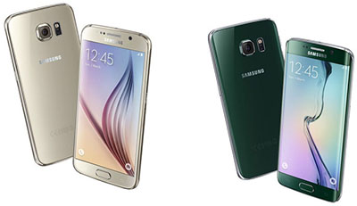 Samsung Galaxy S6 & Samsung Galaxy S6 Edge.