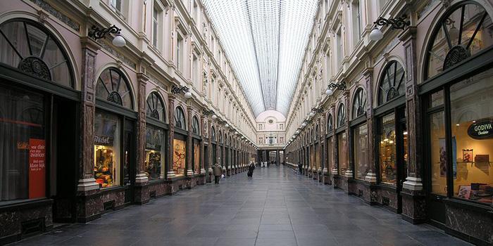 Galeries Royales Saint-Hubert, Rue du Marche-aux-Herbes | Rue de l�Ecuyer, 1000 Brussels, Belgium.