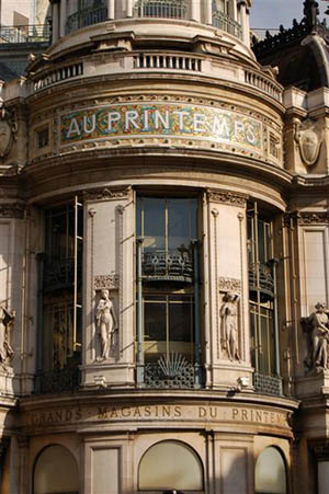 Printemps, 64 Boulevard Haussmann, 75009 Paris.