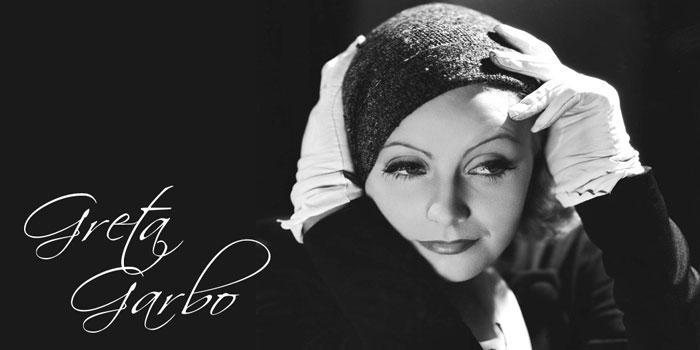 Greta Garbo (1905-1990).