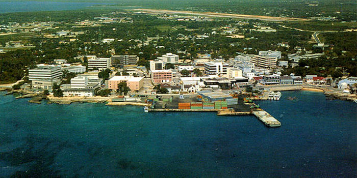George Town, Grand Cayman, Cayman Islands, British West Indies.