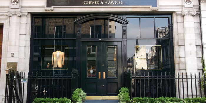 Gieves & Hawkes, 1 Savile Row, London W1S 3JR, England, U.K.