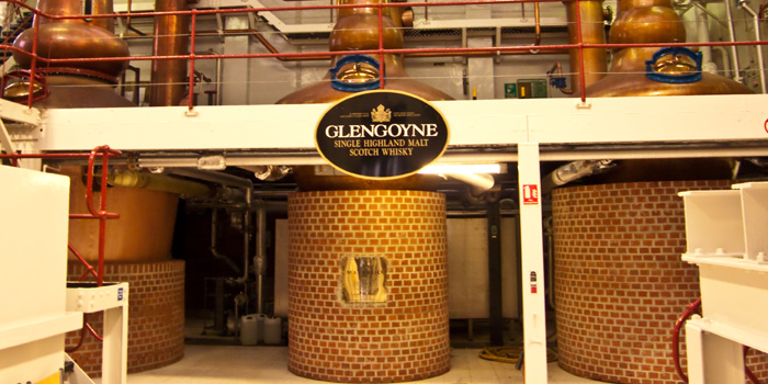 Glengoyne Distillery producing Highland single malt whisky since 1833.