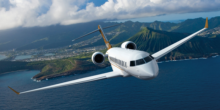 Global 8000 - 'The New Pinnacle in Business Aviation'.