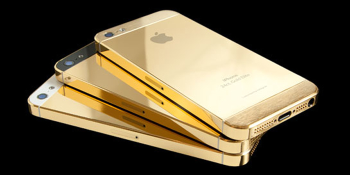 Goldgenie iPhone 5 Collection.