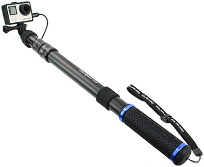 PowerPole-Battery Integrated GoPro Pole: US$99.99.