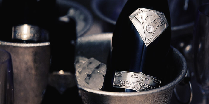 Goût de Diamants - the world�s most expensive champagne.