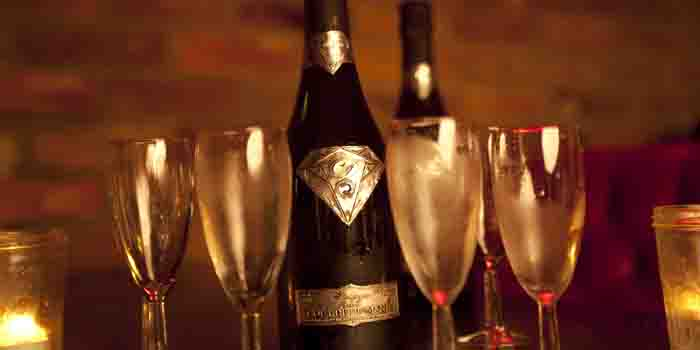 Goût de Diamants - the world's most expensive champagne.