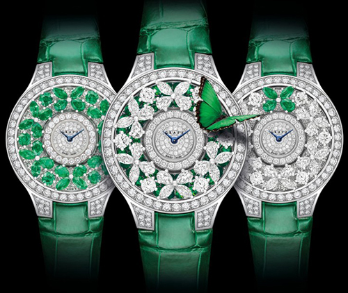 Graff Bullerfly Collection watches.