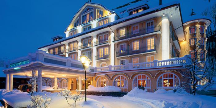 Le Grand Bellevue, Hauptstrasse, CH-3780 Gstaad, Switzerland.