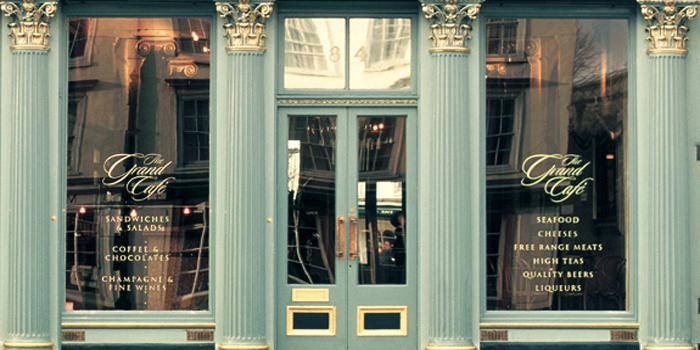 The Grand Café, 84 The High Street, Oxford OX1 4BG, England, U.K. Since 1650. The first coffee house in England.