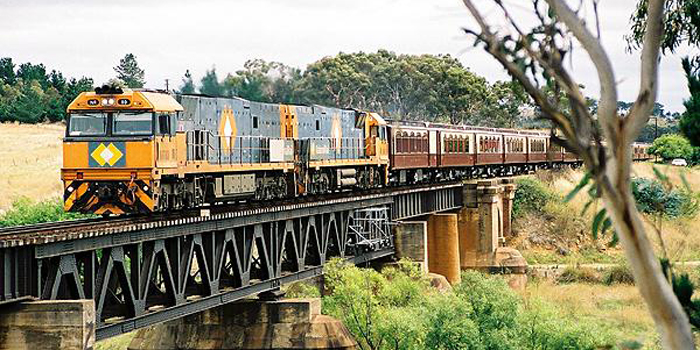 The Great South Pacific Express, Australia's own Orient-Express is the first ever train to travel the distance from Sydney to Cairns. This luxurious travelling hotel combines the highest standards of Australian engineering with opulence and comfort and the train pays tribute to Australia's early railway heritage.