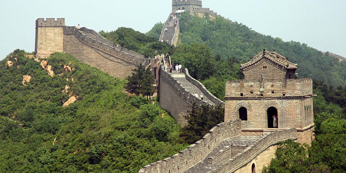 Great Wall of China, Mutian Valley, Huairou, Beijing, China.