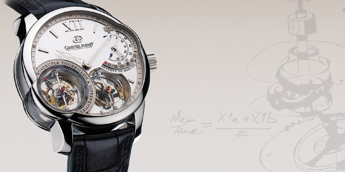 Greubel Forsey Quadruple Tourbillion. 531 parts are used for two separate double tourbillons. Price: US$690,000.