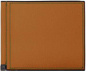 Valextra Simple Grip Spring Men's Wallet: US$430.