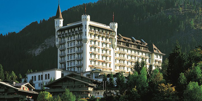 Gstaad Palace hotel, Palacestrasse 28, CH-3780 Gstaad, Switzerland.