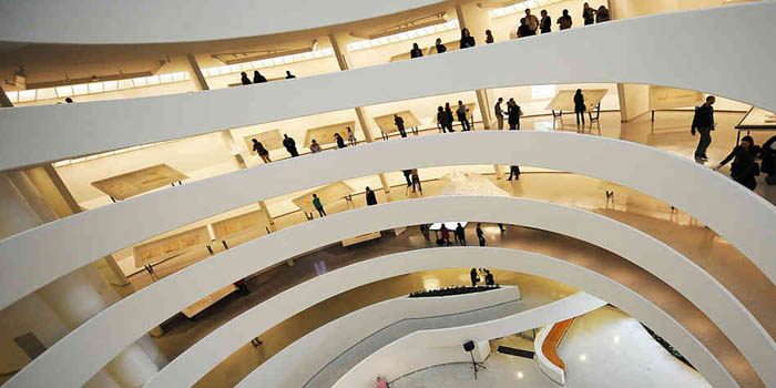 Inside Solomon R. Guggenheim Museum, 1071 5th Ave, New York, NY 10128, U.S.A.