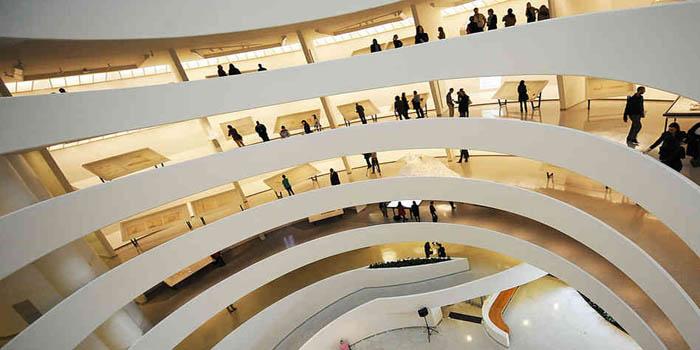 Inside Solomon R. Guggenheim Museum, 1071 5th Ave, New York, NY 10128, U.S.A.