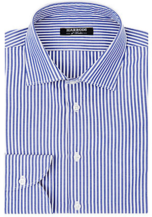 Harrods of London Classic Striped Men's Shirt: £140.