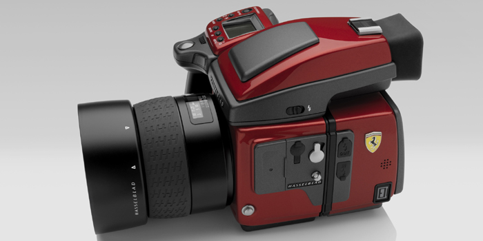 Hasselblad H4D Ferrari Limited Edition digital camera.